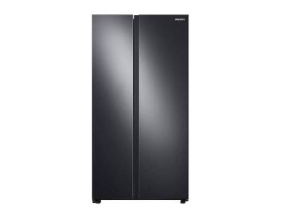 "36"" Samsung 28 cu. ft. Smart Side-by-Side Refrigerator - RS28A500ASG"
