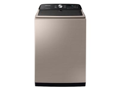 Samsung Top Load Washer With Active WaterJet In Champagne - WA50T5300AC