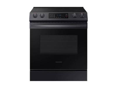 "30"" Samsung  6.3 cu ft. Smart Slide-in Electric Range with Convection - NE63T8311SG"