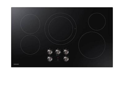 "36"" Samsung Electric Cooktop in Black - NZ36R5330RK"