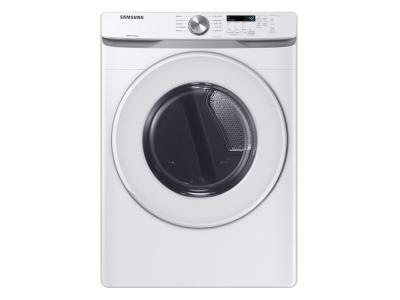 Samsung Electric Long Vent Dryer With Sensor Dry In White - DVE45T6020W