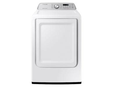 Samsung Gas Dryer With Sensor Dry In White - DVG45T3400W