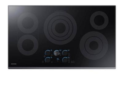 """36"""" Samsung Smart Electric Cooktop with Sync Elements - NZ36K7570RG"""