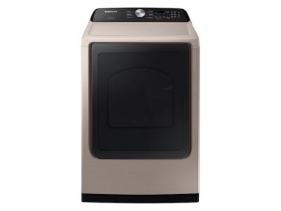 Samsung Electric Dryer With Sensor Dry In Champagne - DVE50T5300C