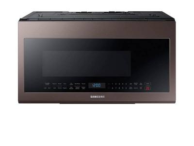 "30"" Samsung 2.1 cu. ft. Capacity Over-the-Range Microwave with Sensor Cooking - ME21R706BAT"