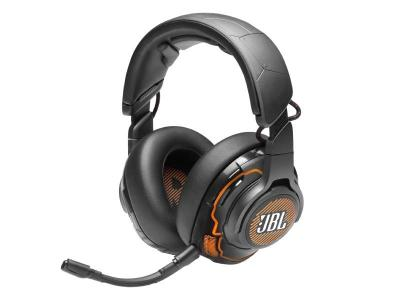 JBL Quantum ONE USB wired Over-Ear Professional Gaming Headset  - JBLQUANTUMONEBLKAM