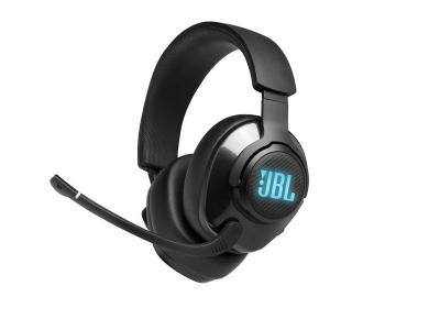 JBL Quantum 400 USB Over-Ear Gaming Headset with Game-Chat Dial - JBLQUANTUM400BLKAM