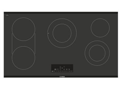 "37"" Bosch 800 Series Electric Cooktop Black Frameless-NET8668UC"