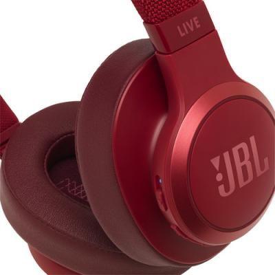 JBL Wireless Over-Ear Headphones - Live 500BT (R)