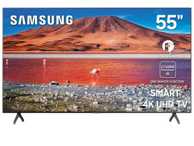 "55"" Samsung UN55TU7000FXZC Smart 4K UHD TV"