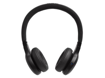 JBL Wireless On-Ear Headphones - Live 400BT (B)
