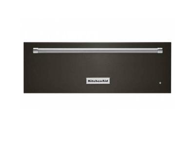 """30"""" Kitchenaid Warmer Drawer In Black Stainless Steel - KOWT100EBS"""