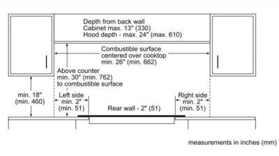 """23"""" Bosch 500 Series Electric Cooktop Black Frameless-NEM5466UC"""