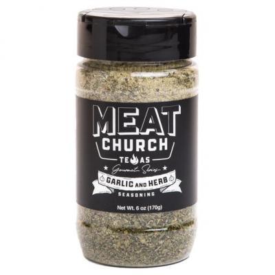 Meat Church Gourmet Garlic & Herb - GOURMET GARLIC