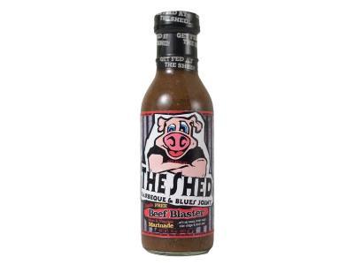The Shed 14 Oz Beef Blaster Marinade Sauce - Beef Blaster Marinade