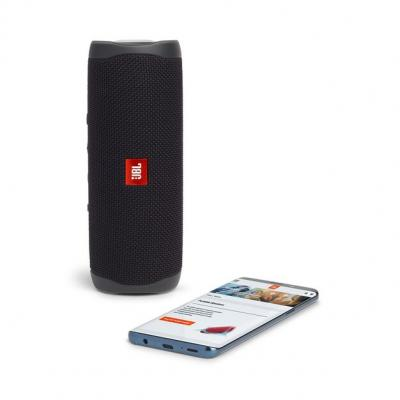 JBL FLIP 5 Portable Waterproof Speaker - JBLFLIP5BLKAM