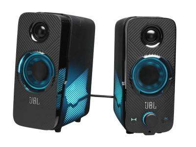 JBL Quantum Duo PC Gaming Speakers - JBLQUANTUMDUOBLKAM