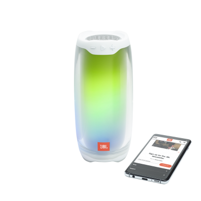 JBL Pulse 4 Portable Bluetooth Speaker - Pulse 4 (W)