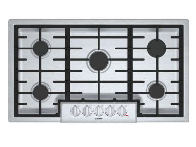 "37"" Bosch 800 Series Gas Cooktop 5 Burner-NGM8656UC"