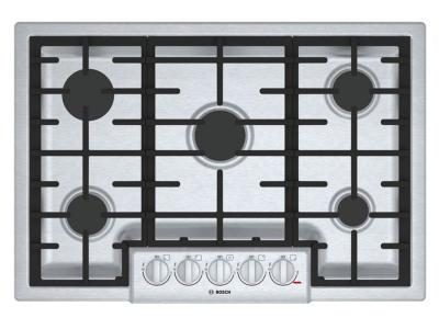 "31"" Bosch 800 Series Gas Cooktop 5 Burner-NGM8056UC"