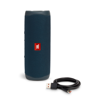 JBL FLIP 5 Portable Waterproof Speaker - JBLFLIP5BLUAM