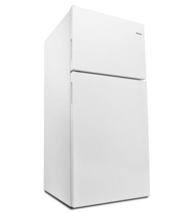 "30"" Amana® Top-Freezer Refrigerator With Glass Shelves – 18 Cu. Ft. ART318FFDS"