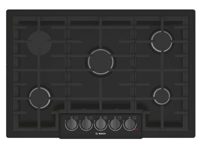 "31"" Bosch 800 Series Gas Cooktop 5 Burner-NGM8046UC"