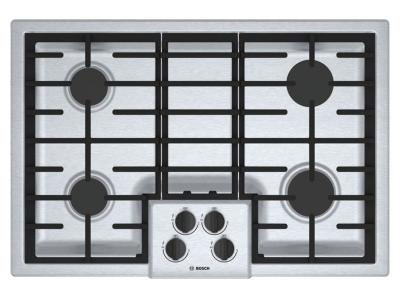 "31"" Bosch 500 Series Gas Cooktop 4 Burner-NGM5056UC"