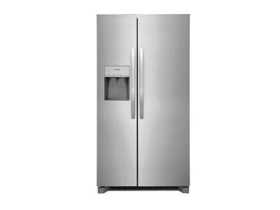 "36"" Frigidaire 25.6 Cu. Ft. Freestanding Side by Side Refrigerator - FRSS2623AS"
