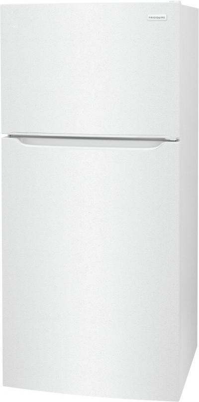 "30"" Frigidaire 18.3 Cu. Ft. Top Freezer Refrigerator in White - FFHT1814WW"