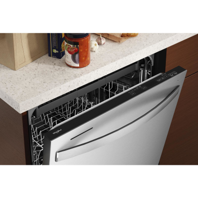 """24"""" Whirlpool Large Capacity Dishwasher with 3rd Rack - WDT750SAKZ"""
