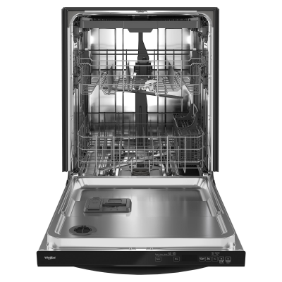 """24"""" Whirlpool Large Capacity Dishwasher with 3rd Rack - WDT750SAKB"""