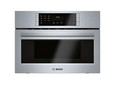 "27"" Bosch Speed Oven Microwave Oven with Convection Stainless Steel- HMC87152UC"