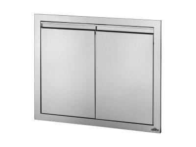 """Napoleon 30""""  x 24"""" Double Door in Stainless Steel - BI-3024-2D"""
