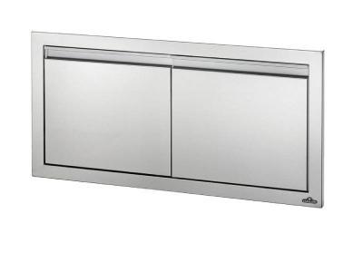 """Napoleon 36""""x 16"""" Small Double Door in Stainless Steel - BI-3616-2D"""