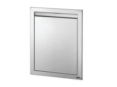 """Napoleon 18"""" x 24"""" Reversible Single Door in Stainless Steel - BI-1824-1D"""