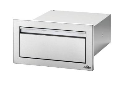 """Napoleon 18""""  x 8"""" Single Drawer in Stainless Steel - BI-1808-1DR"""