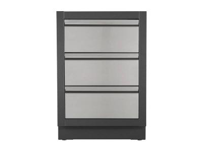 Napoleon Oasis Two Drawer Cabinet with False Top Drawer - IM-2DC-CN