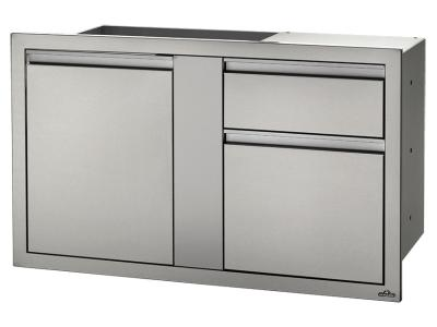 "Napoleon 42"" X 24"" Large Single Door And Standard Drawer - BI-4224-1D2DR"