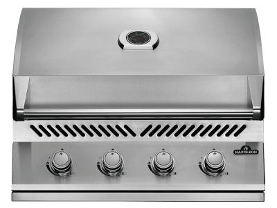 Napoleon Built-In 500 Series Propane Gas Grill In Stainless Steel - BI32PSS
