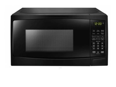"""20"""" Danby 1.1 cuft Capacity, 1000 Watts Microwave in Black - DBMW1120BBB"""