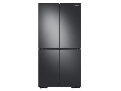 """36"""" Samsung 29 Cu. Ft. French Door Refrigerator With Beverage Center In Black Stainless Steel - RF29A9671SG"""