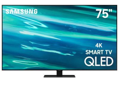"""75"""" Samsung QN75Q80AAFXZC QLED 4K Smart TV"""
