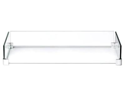Napoleon Patioflame Glass Windscreen for Hamptons Rectangle - GPFRE