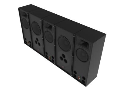Klipsch Behind-The Screen SUB System For Screens 112 Inch to 121 Inch - RCC112SUB