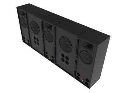 Klipsch Behind-The Screen SUB System For Screens 122 Inch And Larger - RCC122SUB