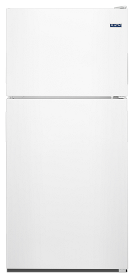 """33"""" Maytag 21 Cu. Ft. Top Freezer Refrigerator With PowerCold Feature - MRT311FFFH"""