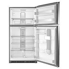 """33"""" Maytag Top Freezer Refrigerator With Evenair Cooling Tower  21 Cu. Ft. - MRT711SMFZ"""