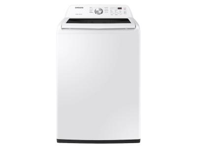 """27"""" Samsung Top Load Washer With Vibration Reduction Technology In White - WA45T3200AW"""