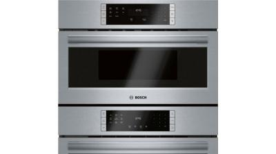 "30"" Bosch 800 Series Combo Wall Oven Stainless Steel - HBL87M53UC"